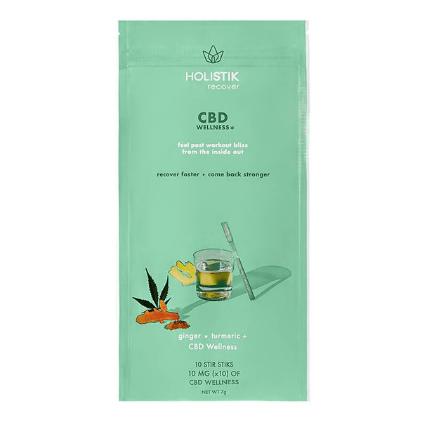HOLISTIK Wellness - CBD Drink Mix - Recover Stir STIK - 10mg