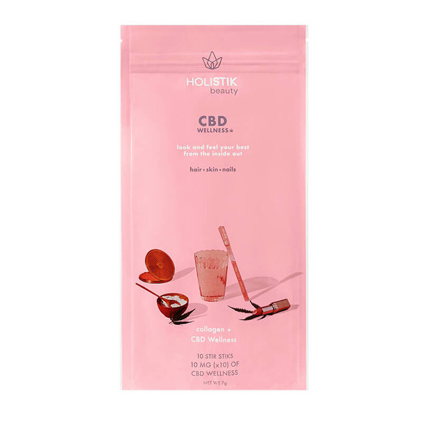 HOLISTIK Wellness - CBD Drink Mix - Beauty Stir STIK - 10mg