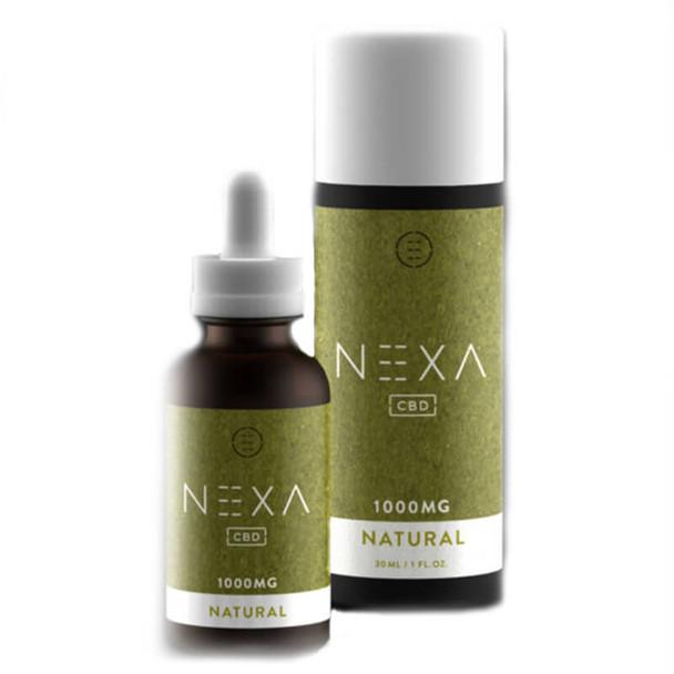Nexa CBD - CBD Tincture - Natural - 250mg-1000mg