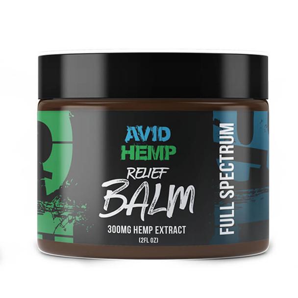 Avid Hemp - CBD Topical - Relief Balm - 300mg-1500mg