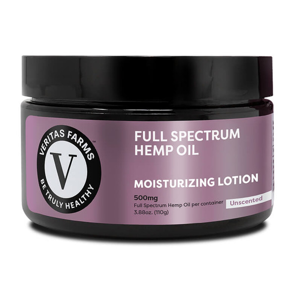 Veritas Farms - CBD Topical - Full Spectrum Unscented Lotion - 500mg-1000mg