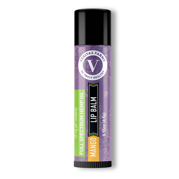 Veritas Farms - CBD Topical - Full Spectrum Mango Lip Balm - 25mg