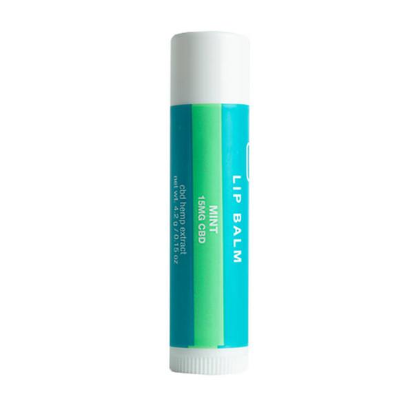 Social CBD - CBD Topical - Mint Flavored Lip Balm - 15mg