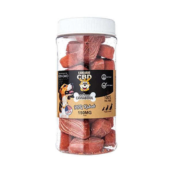 Kangaroo CBD - CBD Pet Edible - Dog Treats BBQ Kabob - 150mg