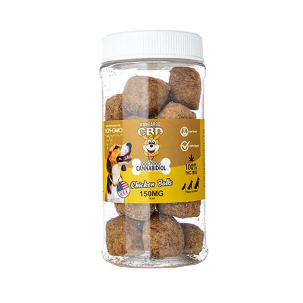 Kangaroo CBD - CBD Pet Edible - Dog Treats Chicken Balls - 150mg