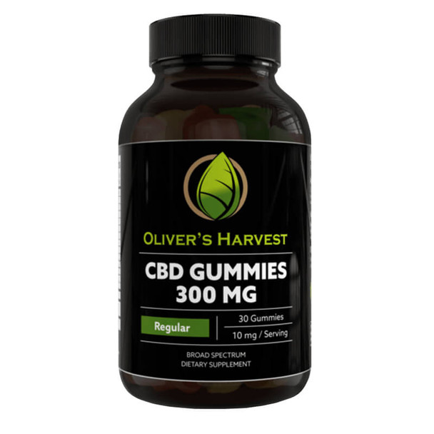 Oliver's Harvest CBD - CBD Edible - Broad Spectrum Gummies - 300mg-600mg