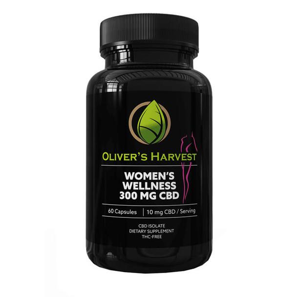Oliver's Harvest CBD - CBD Capsule - Women's Wellness Support - 10mg