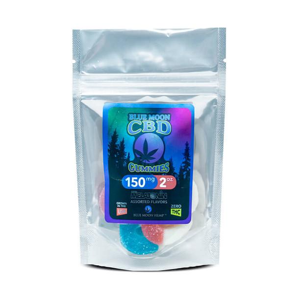 Blue Moon Hemp - CBD Edible - Gummies with Melatonin - 2oz-150mg