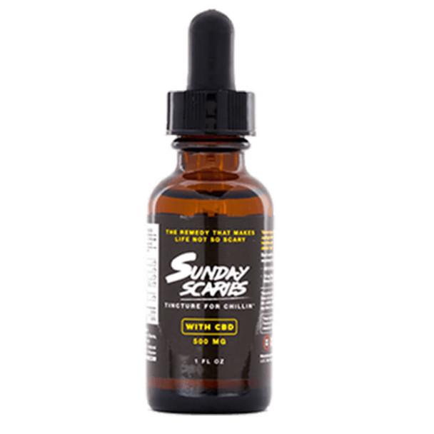 Sunday Scaries - CBD Tincture - Broad Spectrum w/Vitamins B12 & D3 - 500mg