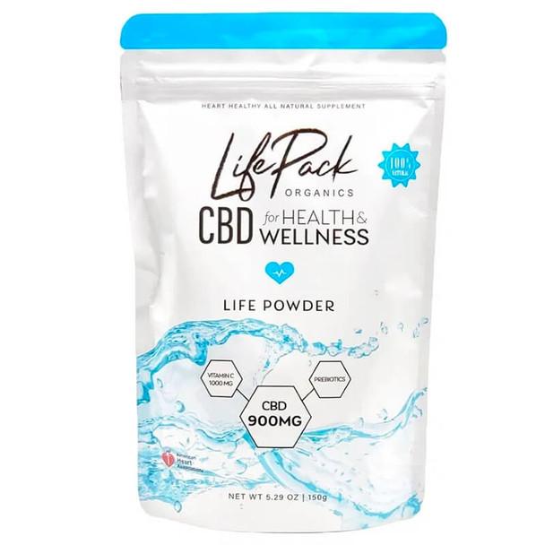Life Pack Organics - CBD Drink - 30 Day Life Powder - 900mg