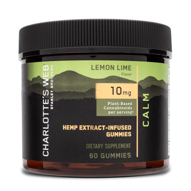 Charlottes Web - CBD Edible - Calm Hemp Extract Gummies - 10mg