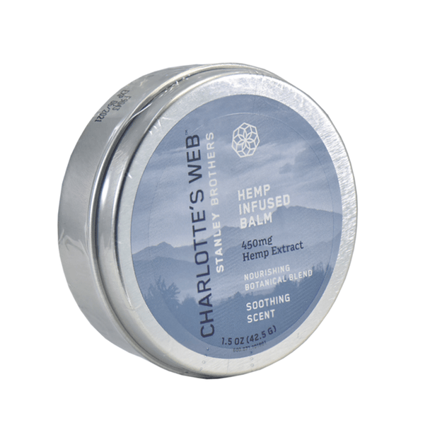 Charlottes Web - CBD Topical - Full Spectrum Hemp Infused Balm - 150mg-450mg
