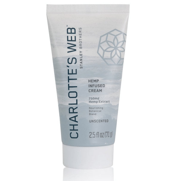 Charlottes Web - CBD Topical - Nourishing Unscented Cream - 750mg