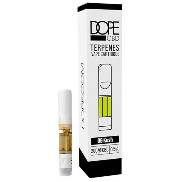 Dope CBD - CBD Cartridge - OG Kush with Terpenes - 200mg-400mg