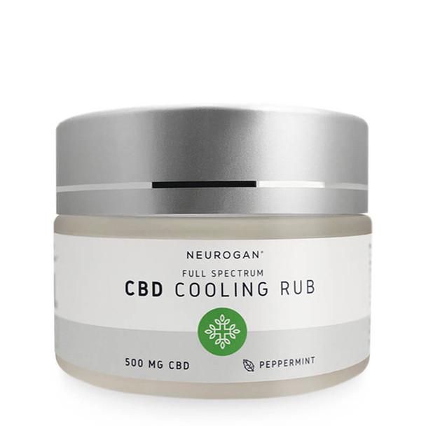 Neurogan, Inc. - CBD Topical - Full Spectrum Cooling Rub Peppermint - 500mg-1000mg