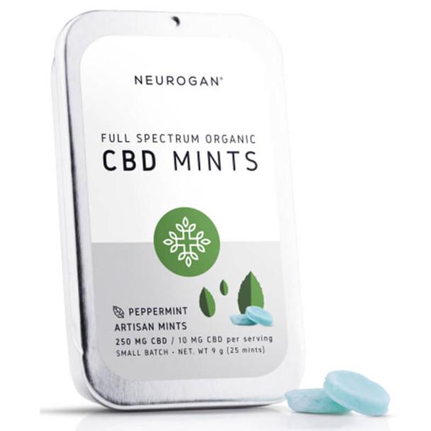Neurogan, Inc. - CBD Edible - Full Spectrum Mints - 10mg