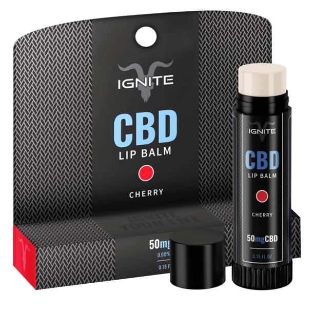 Ignite CBD - CBD Topical - Cherry Lip Balm - 50mg