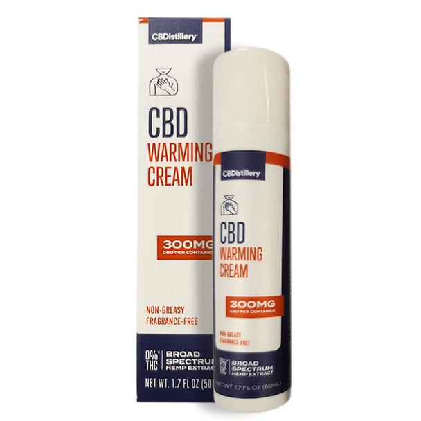 CBDistillery - CBD Topical - Broad Spectrum Warming Cream - 300mg