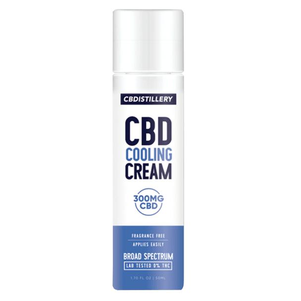 CBDistillery - CBD Topical - Broad Spectrum Cooling Cream - 300mg