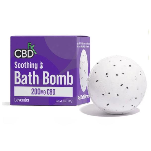 CBDfx - CBD Bath - Soothing Lavender Bath Bomb - 200mg