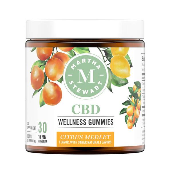 Martha Stewart - CBD Edible - Citrus Medley Gummies - 300mg