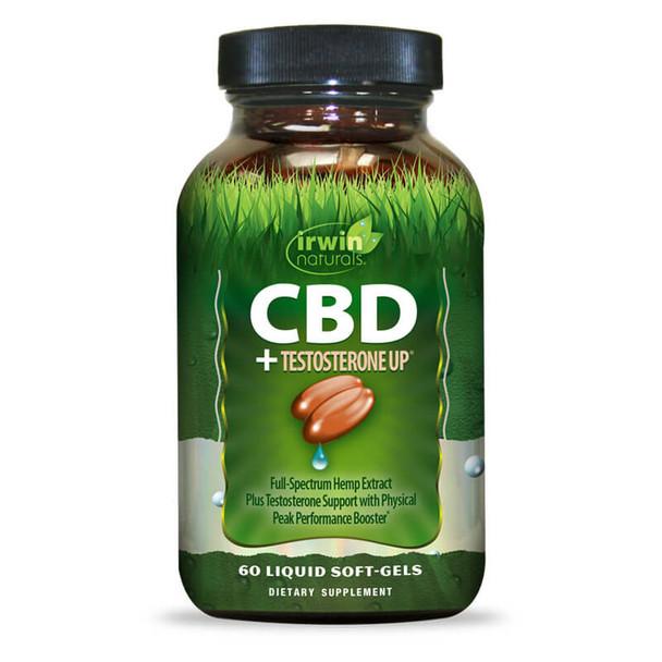 Irwin Naturals - CBD Capsules - CBD + Testosterone UP - 30mg