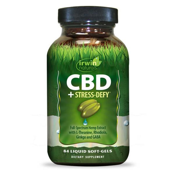 Irwin Naturals - CBD Capsules - CBD +  Stress-Defy - 15mg