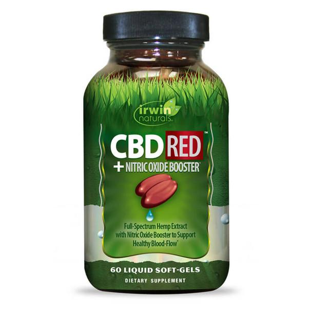 Irwin Naturals - CBD Capsules - CBD RED +  Nitric Oxide Booster - 30mg
