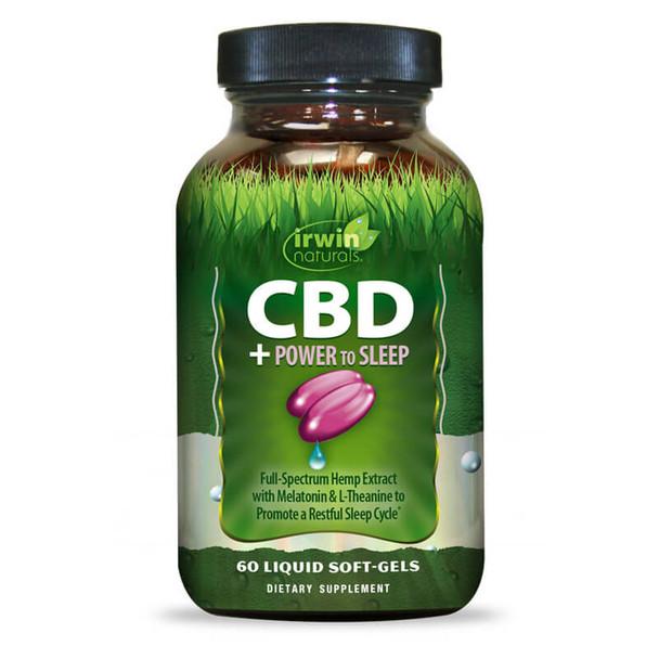 Irwin Naturals - CBD Capsules - CBD + Power to Sleep - 30mg