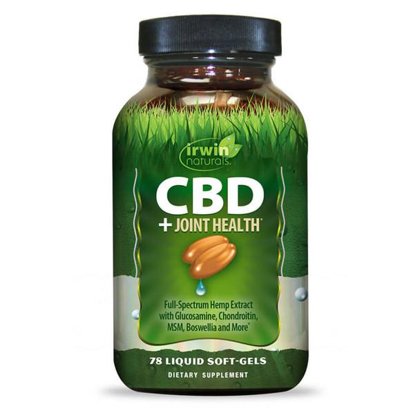 Irwin Naturals - CBD Capsules - CBD + Joint Health - 30mg
