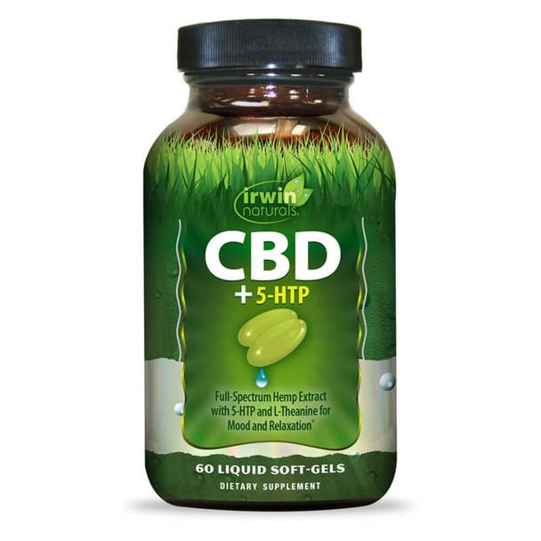Irwin Naturals - CBD Capsules - CBD + 5-HTP - 15mg