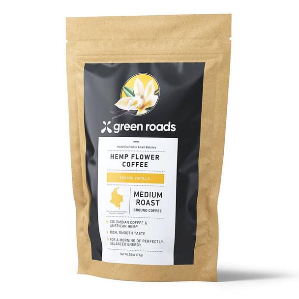 Green Roads - Hemp Flower Coffee - French Vanilla