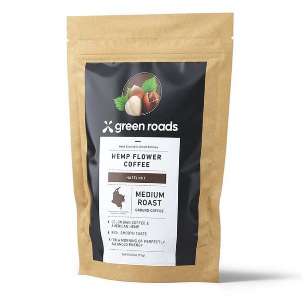 Green Roads - Hemp Flower Coffee - Hazelnut