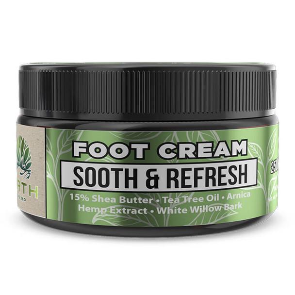 ERTH - CBD Topical - Sooth & Refresh 15% Shea Butter Foot Cream - 250mg
