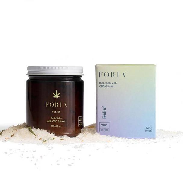 Foria Wellness - CBD Bath - Menstrual Relief Bath Salt - 200mg