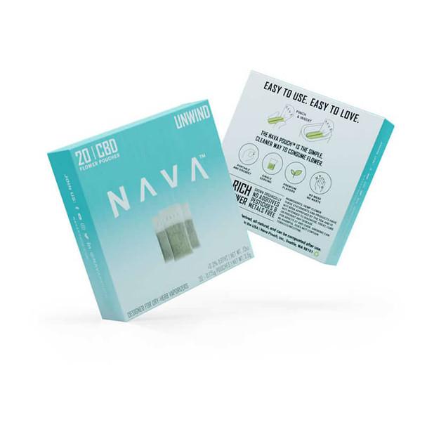 Nava - CBD Pod - Full Spectrum Unwind Flower Pouch
