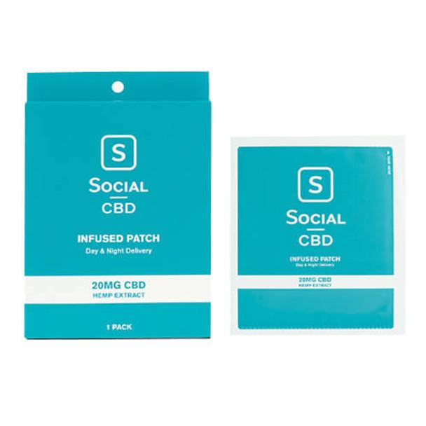 Social CBD - CBD Topical - Patch - 20mg
