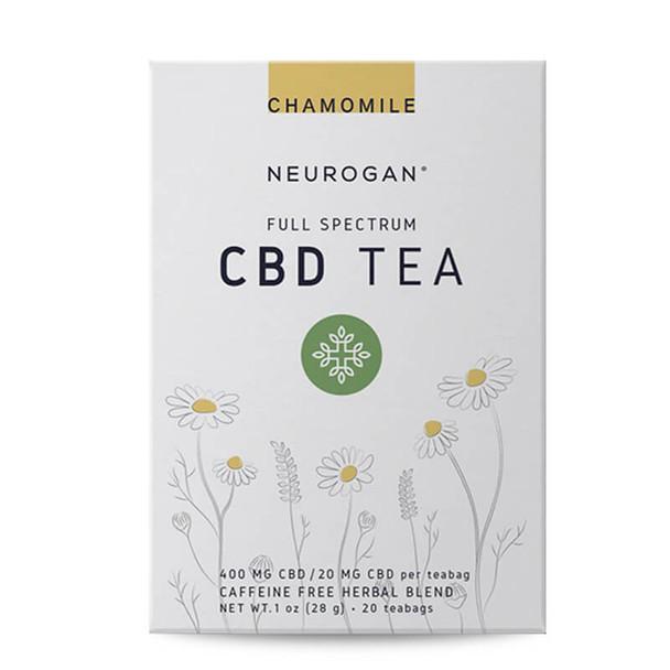 Neurogan, Inc. - CBD Drinks - Full Spectrum Chamomile Tea - 20mg