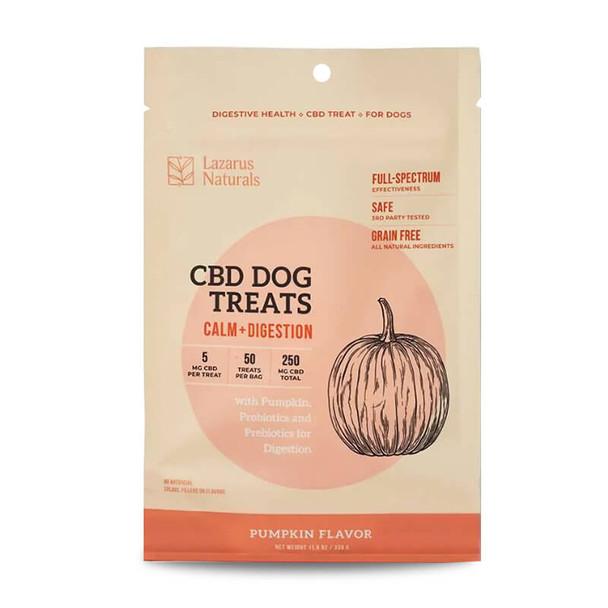 Lazarus Naturals - CBD Pet Edible - Pumpkin Calm + Digestion - 5mg