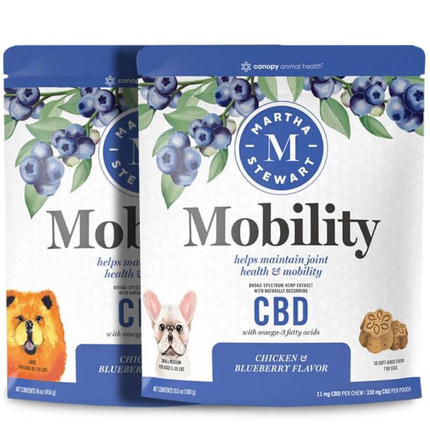 Martha Stewart - CBD Pet Treats - Soft-Baked Mobility Dog Chews - 11mg-32mg