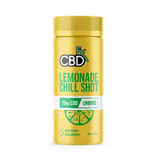 CBDfx - CBD Drink - Lemonade Chill Shot - 20mg