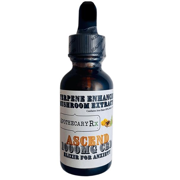 Apothecary RX - CBD Tincture - Ascend Elixir - 1000mg-3000mg