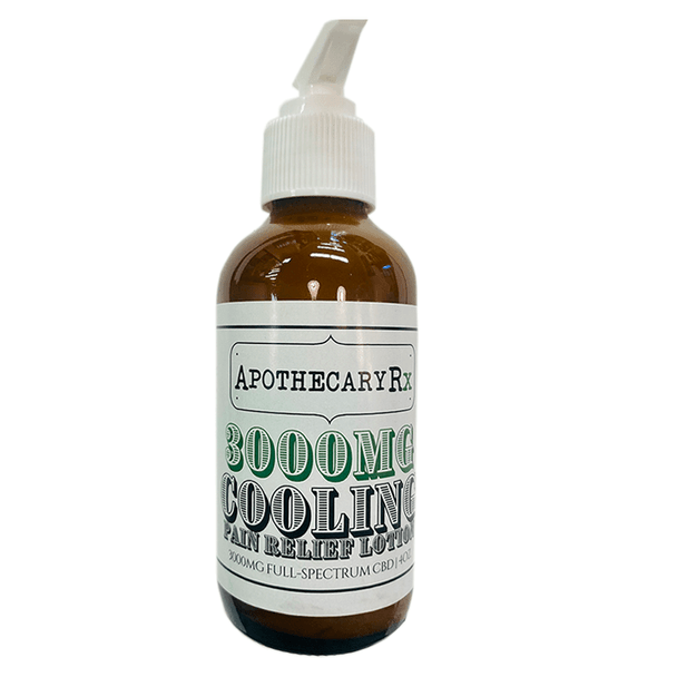 Apothecary RX - CBD Topical - Cooling Lotion - 3000mg