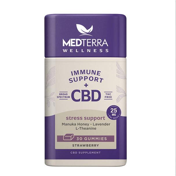 Medterra Wellness - CBD Edible - Stress Support Gummies - 25mg