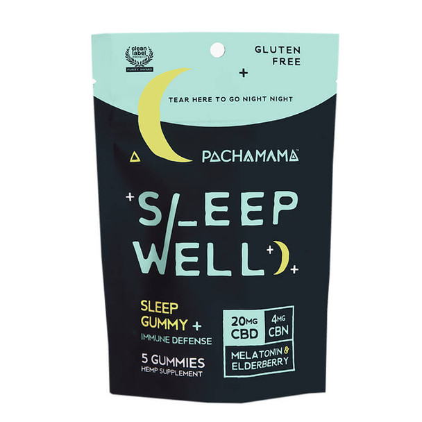 Pachamama - CBD Edible - Sleep Well Gummies - 20mg