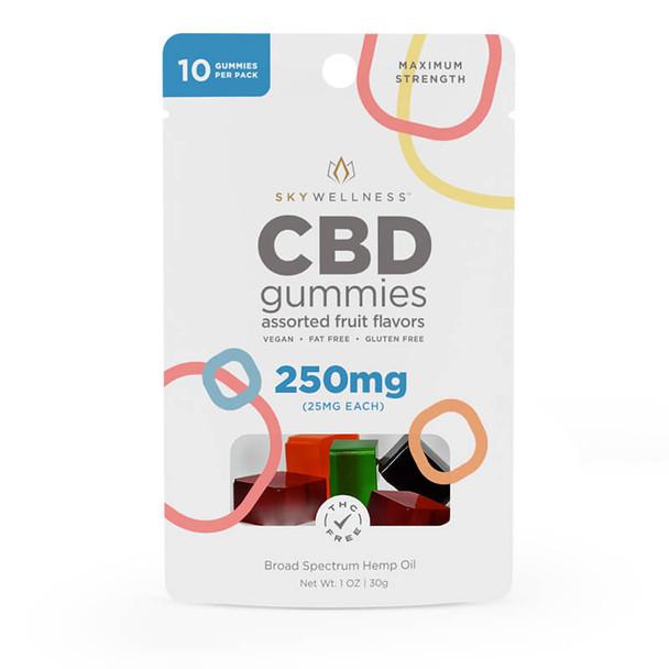 Sky Wellness - CBD Edible - Fruit Gummies - 25mg