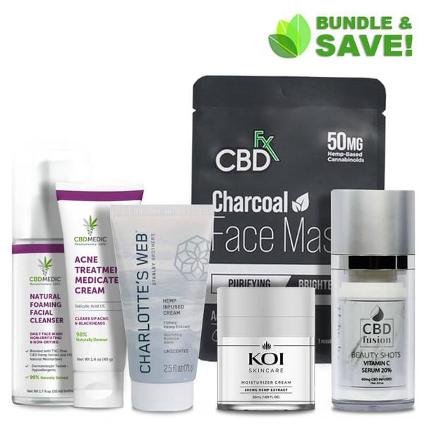 Skincare & Beauty CBD Bundle