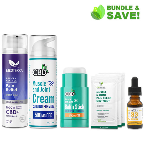 Muscle & Joint Recovery CBD Bundle