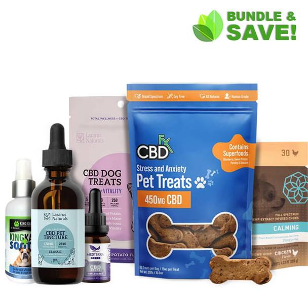 Pet Stress & Anxiety CBD Bundle
