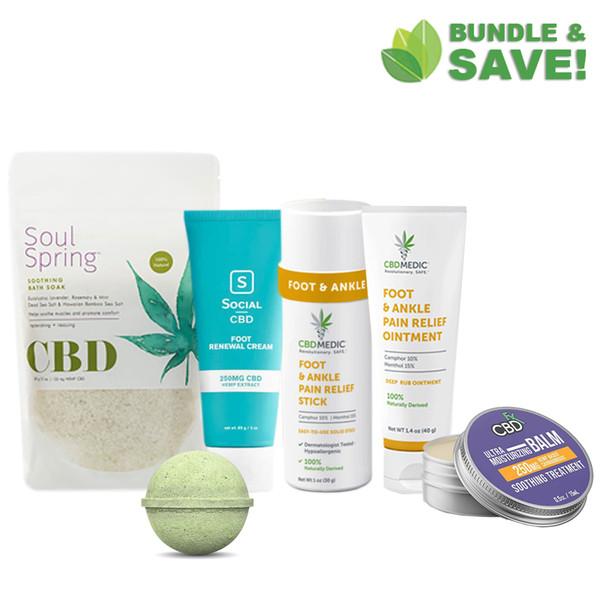 CBD Foot Care Bundle